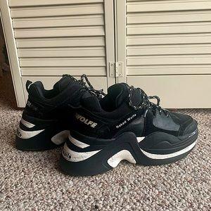 Naked Wolfe Black Sneakers